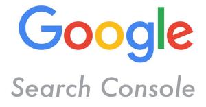 Logo de Google Search Console (Cónsola de Búsqueda de Google)