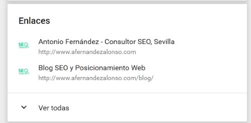 """Enlace de vuelta al sitio web desde página """"Sobre mí"""" en Google Plus"""