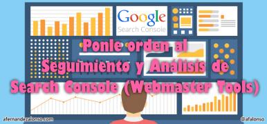 Planificación del Seguimiento de las herramientas de Search Console