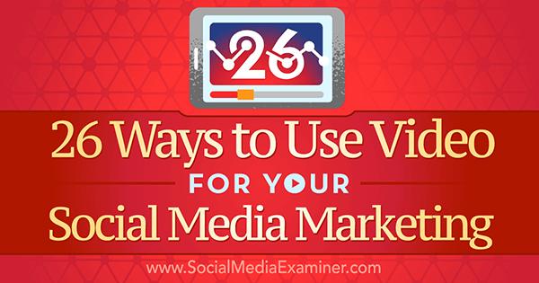 Mejora tu Social Media Marketing haciendo vídeos de calidad