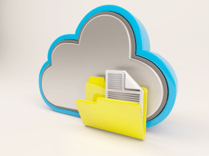 Sincronización de datos con almacenamiento en la nube Dropbox