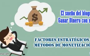 Cómo ganar dinero en Internet para monetizar tu Blog