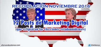 12 Posts de Marketing Digital que arrasarían en las elecciones americanas