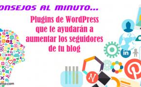 7+1 Plugins para conseguir seguidores de tu blog en WordPress