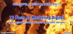 Selección de los Mejores Posts de Marketing Digital y SEO publicados en marzo de 2017