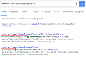 Cómo buscar webs con un determinado tema de WordPress