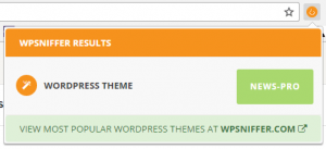 Detectar el tema de una web con el plugin WPSniffer