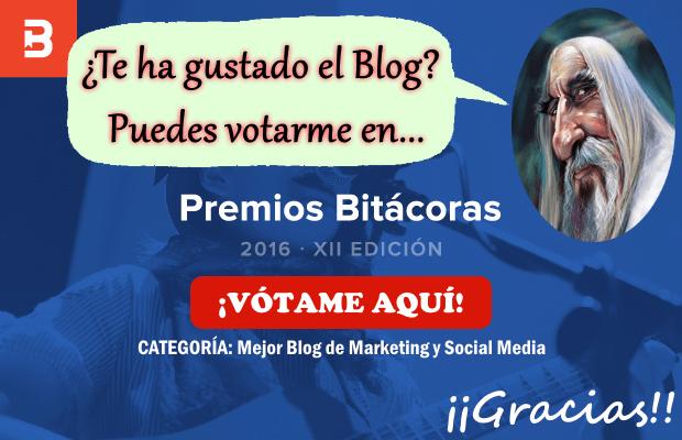 Si te gusta mi blog, vótame en Premios Bitácoras 2016