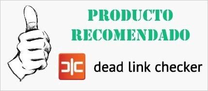 Producto recomendado: Dead Link Checker