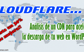 CloudFlare CDN: ¿cuánto acelera la descarga de tu WordPress?