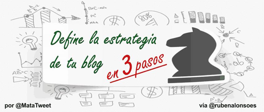 Cómo definir la estrategia de un blog para tener éxito