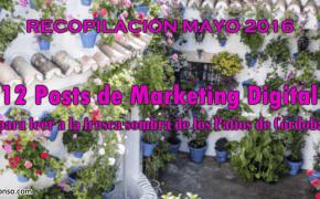 12 Posts de Marketing Digital para disfrutar de los Patios de Córdoba