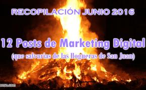 12 Posts de Marketing Digital que salvarías de las Hogueras de San Juan