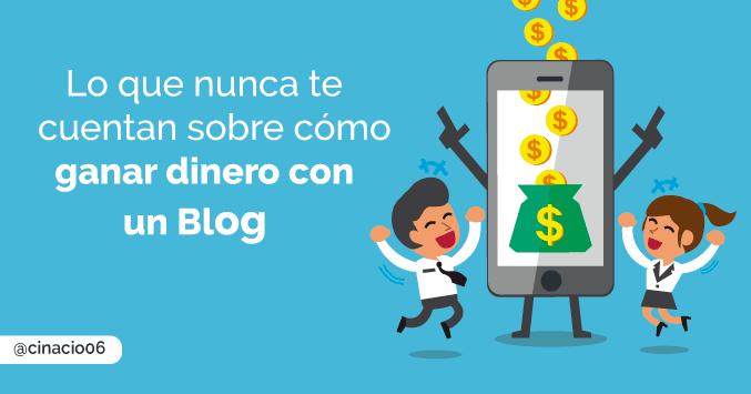 La verdad detrás de los éxitos de los blogs que ganan dinero