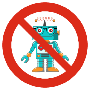 Cuándo no utilizar el fichero robots.txt
