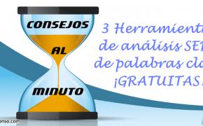 3 herramientas de análisis de palabras clave en el posicionamiento SERP