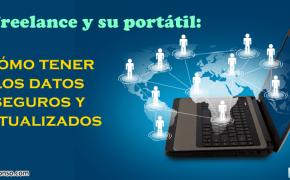 Acceso y seguridad de los datos en la oficina móvil del Freelance