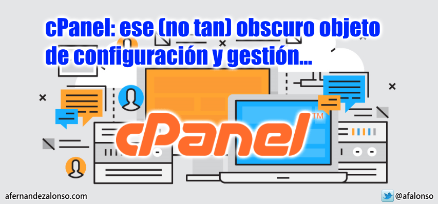 Configuración y gestión de un hosting web con cPanel