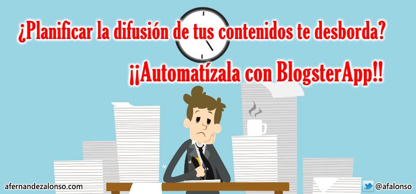 Gana tiempo automatizando la planificación de la difusión de tus contenidos