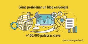 Posicionar un blog en Google con más de 100.000 palabras clave