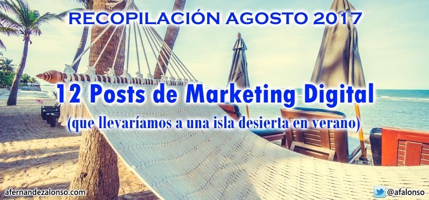 Selección de 12 Mejores Posts de Marketing Digital, SEO, eCommerce y Blogging
