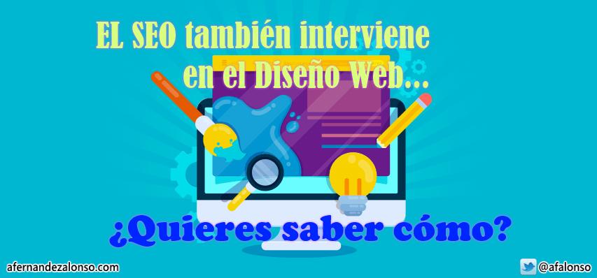 ¿Qué papel tiene el SEO durante la fase del Diseño Web?