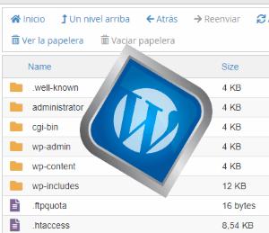 El archivo .htaccess en las carpetas de WordPress